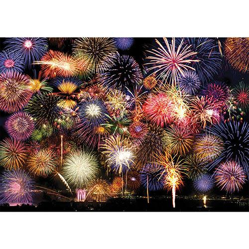 Fireworks Symphony 1500 Piece Large Format Jigsaw Puzzle