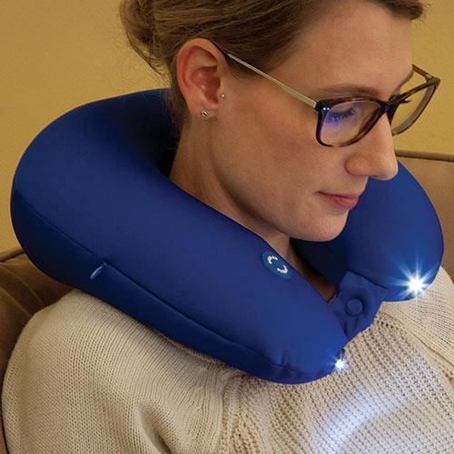 LED Spotlight Travel Pillow