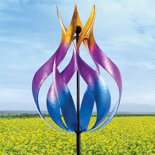 Blaze of Color Wind Spinner