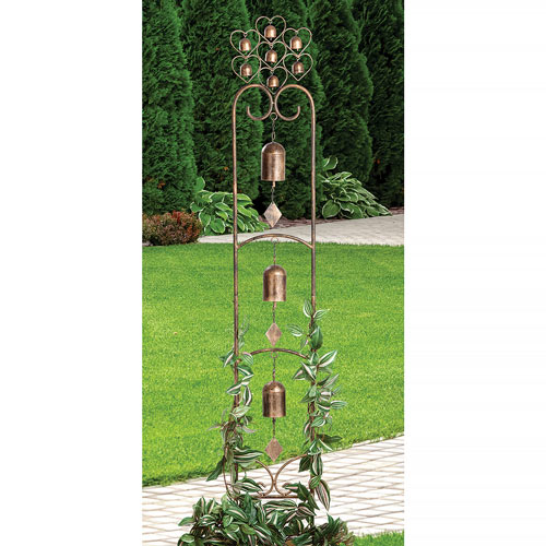 Metal Bell Chimes Stake