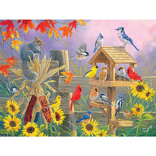 Autumn Gathering 1000 Piece Jigsaw Puzzle