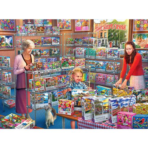 Rosen's Puzzle Store 2000 Piece Jigsaw Puzzle