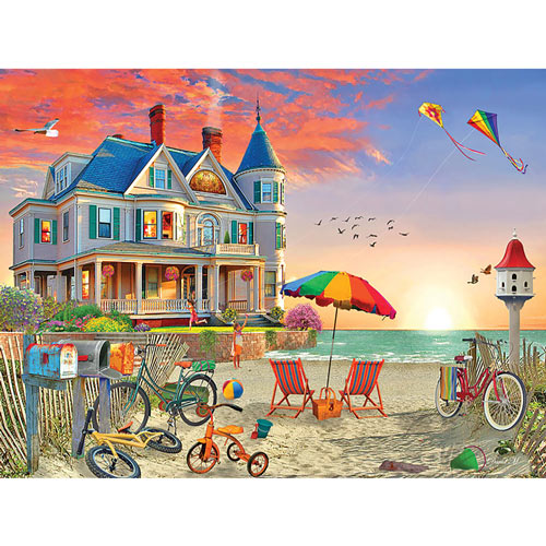 Victorian Beach House 300 Large Piece Jigsaw Puzzle