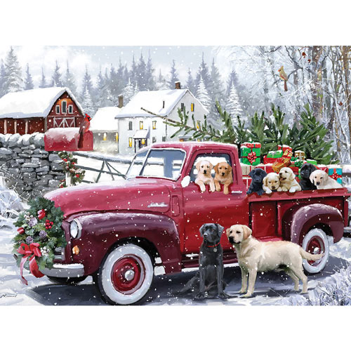 Christmas Delivery 300 Large Piece Jigsaw Puzzle