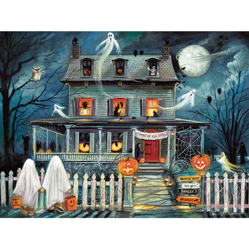 Enter If You Dare 500 Piece Giant Jigsaw Puzzle