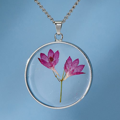 Birth Flower Necklace - May (Coneflower)
