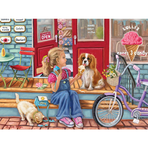 Payday Cones 500 Piece Jigsaw Puzzle