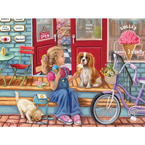 Payday Cones 1500 Piece Jigsaw Puzzle