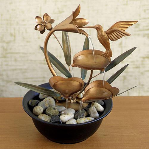 Hummingbird Fountain