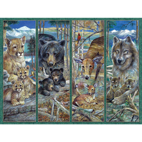 Pride Of The Forest 300 Large Piece Jigsaw Puzzle