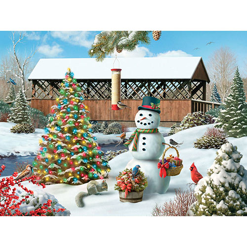 Countryside Christmas 1000 Piecee Jigsaw Puzzle
