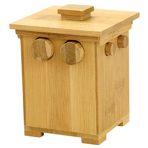 Bamboo Puzzle Box