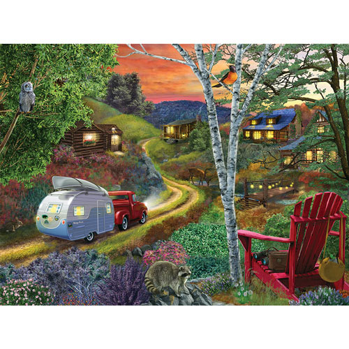 Friends And Neighbors 300 Large Piece Jigsaw Puzzle