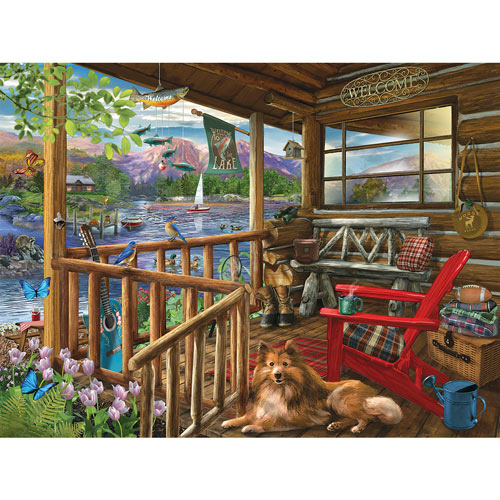 Porch Life 500 Piece Jigsaw Puzzle