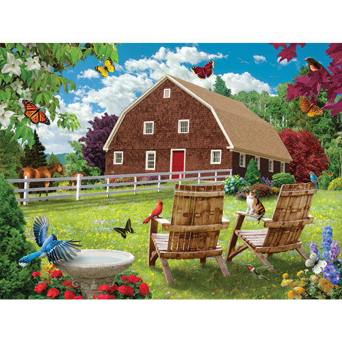 Countryside Comfort 1000 Piece Jigsaw Puzzle