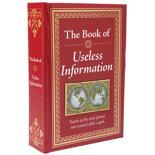 The Know-It-All Library-The Book Of Useless Information