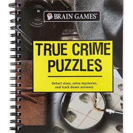 True Crime Puzzle Book