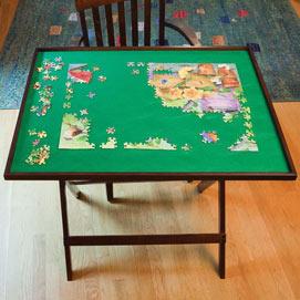Fold Away Jigsaw Puzzle Table