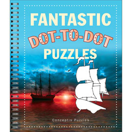 Fantastic Dot To Dot Puzzle Book