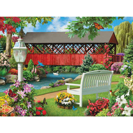 Countryside Park 300 Large Piece Jigsaw Puzzle
