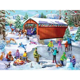 Winter Frolic 500 Piece Jigsaw Puzzle