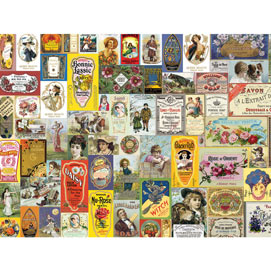 Soap And Perfume Labels 1000 Piece Jigsaw Puzzle