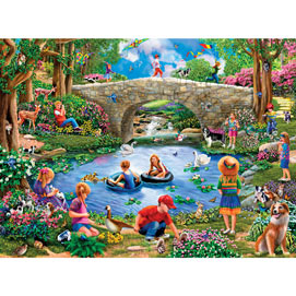End Of Summer 300 Large Piece Jigsaw Puzzle