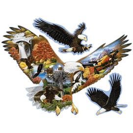 Soaring Eagle 300 Large Piece Shaped Jigsaw Puzzle