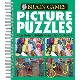 Brain Games Picture Puzzle Book