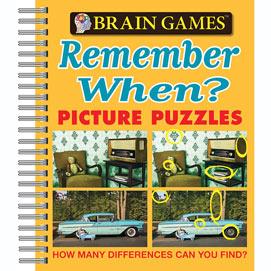 Remember When Picture Puzzle Book