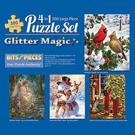 Glitter 300 Large Piece 4-in-1 Multi-Pack Set