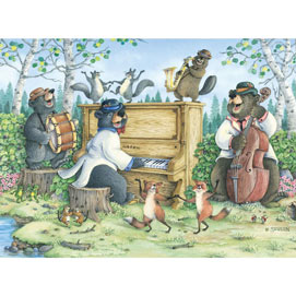 Backwoods Boogie 300 Large Piece Jigsaw Puzzle