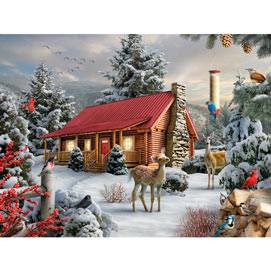 New Friends 300 Large Piece Jigsaw Puzzle