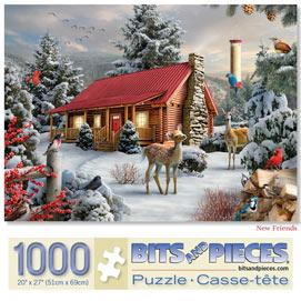 New Friends 1000 Piece Jigsaw Puzzle