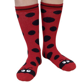 Ladybird Novelty Sock