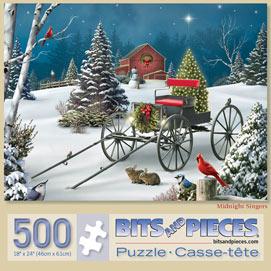 Midnight Singers 500 Piece Jigsaw Puzzle