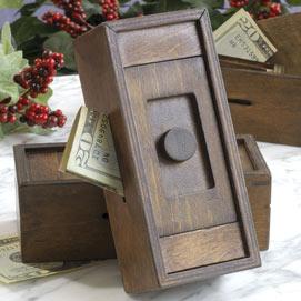 Stash Your Cash Secret Puzzle Box 1