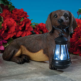 Dog Solar Lantern- Dachshund