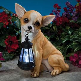 Dog Solar Lantern- Chihuahua