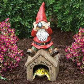 Garden Gnome Toad House