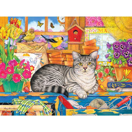 Percy The Head Gardener 300 Large Piece Jigsaw Puzzle