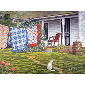 Summer Place 1000 Piece Jigsaw Puzzle