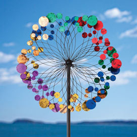 Colourful Kaleidoscope Wind Spinner