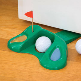 Golf Putter Door Stopper
