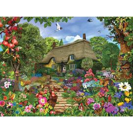 English Cottage Garden 300 Large Piece Jigsaw Puzzle
