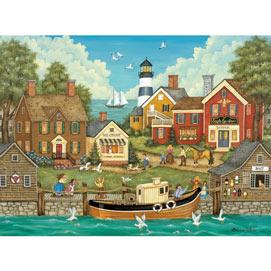 Pesky Seagulls 300 Large Piece Jigsaw Puzzle