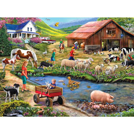 Watering Hole 500 Piece Jigsaw Puzzle