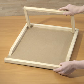 Extra Space Assembly Board Easel