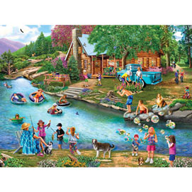 Summer Outing 1000 Piece Jigsaw Puzzle