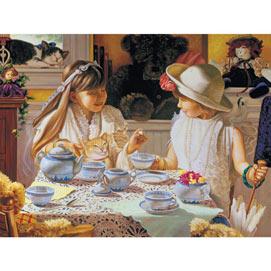 Teatime Table 500 Piece Jigsaw Puzzle